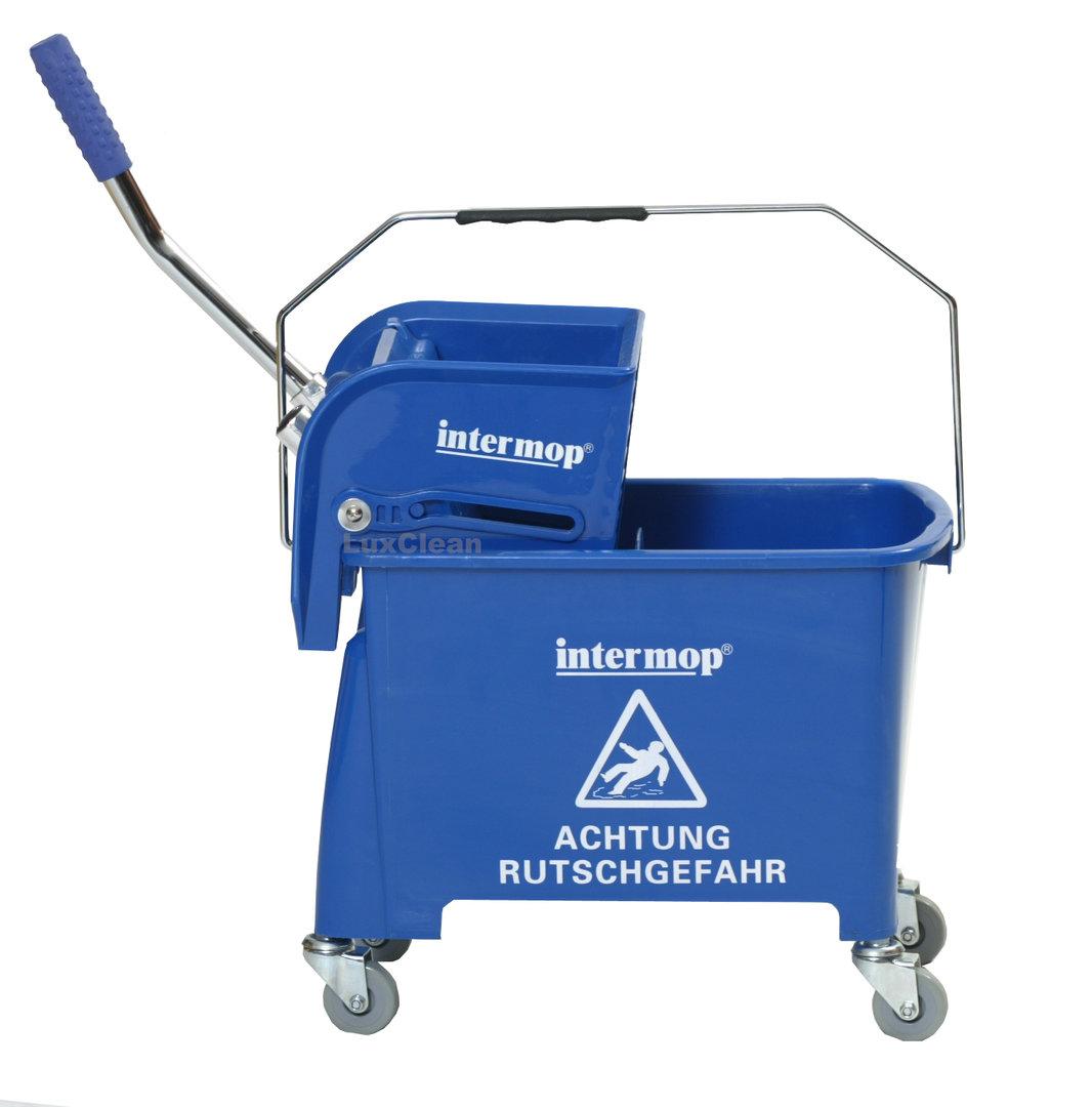 Mini reinigungswagen 20 liter in blau mit presse mit trennwand - Mini bouilloire electrique 0 5 litre ...
